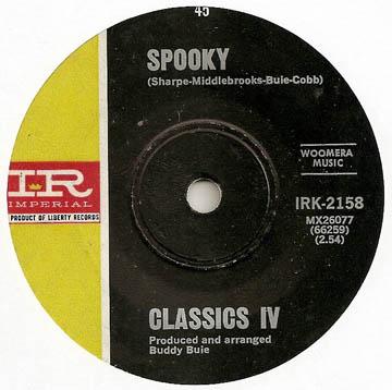 Classics IV Spooky