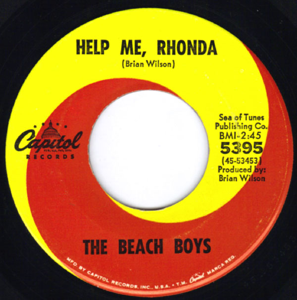 """Help Me Rhonda"" by The Beach Boys"