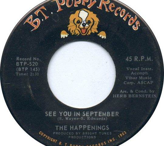 The Happenings See You In September