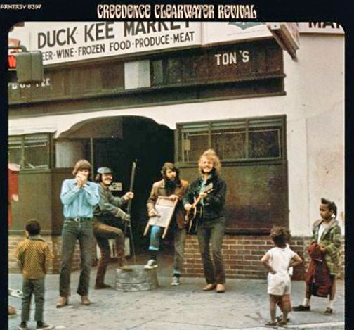 Crredence Clearwater Revival Down on the Corner