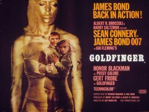 Post for the film Goldfinger