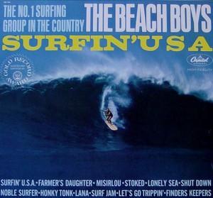 Surfin' Safari was the debut album of The Beach Boys