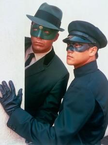 Van Williams and Bruce Lee in The Green Hornet TV series