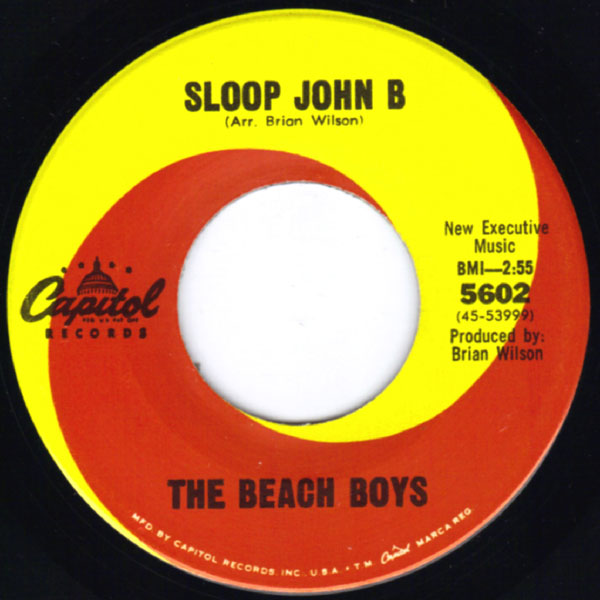 Beach Boys, The - Sloop John B / You´re So Good To Me / God Only Knows / Wouldn't It Be Nice