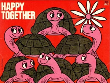 The Turtles Happy Together