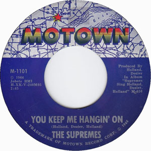 The Supremes You Keep Me Hangin' On