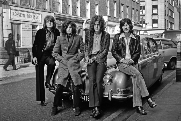 Led Zepplin in 1968