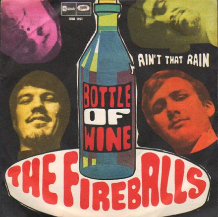 The Fireballs Bottle of Wine