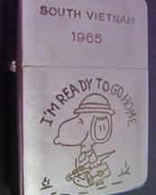 A Soldier's Zippo Lighter from Vietnam War