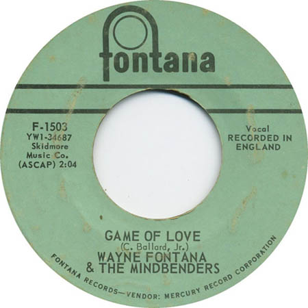 Wayne Fontana and The Mindbenders Game of Love