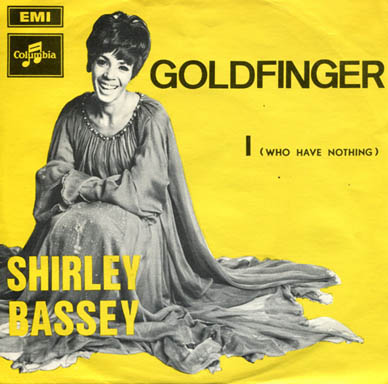 Goldfinger by Shirley Bassey