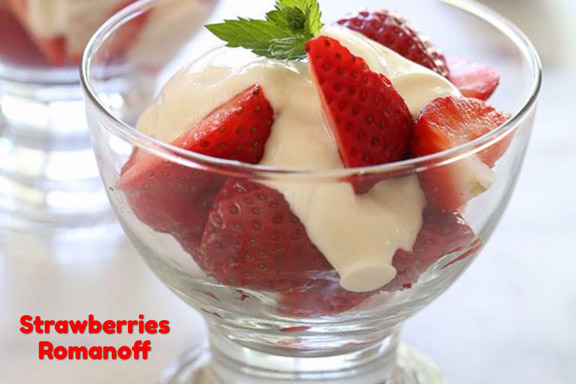 Strawberries Romanoff recipe