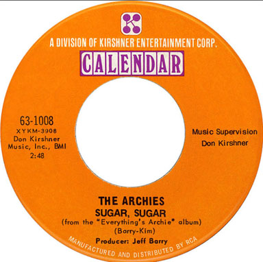 The Archies Sugar Sugar